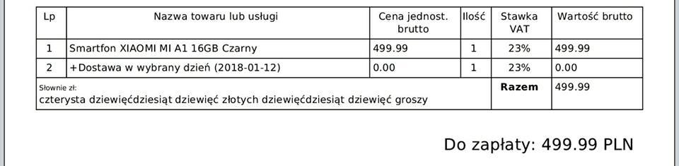 Tabletowo.pl Media Expert nie wyśle nikomu kupionych za 500 złotych Xiaomi Mi A1. Sklep jednak nie chowa głowy w piasek Android Smartfony Xiaomi
