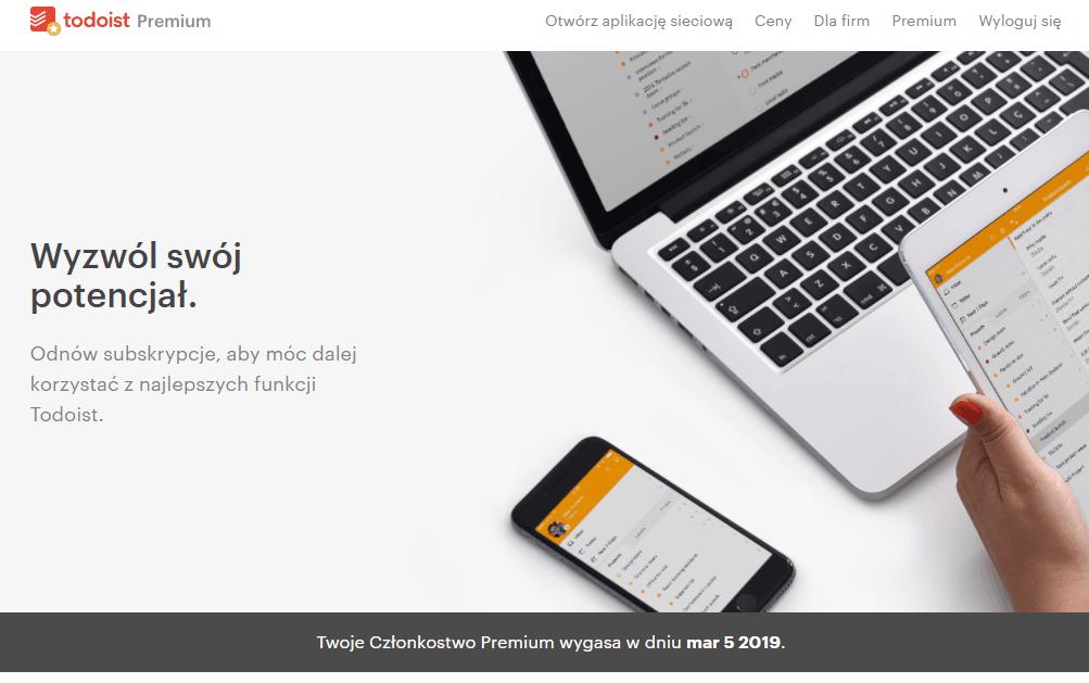 Tabletowo.pl Szaleństwo! Do odebrania nawet 11 miesięcy konta Premium w ToDoIst Aplikacje Porady Promocje