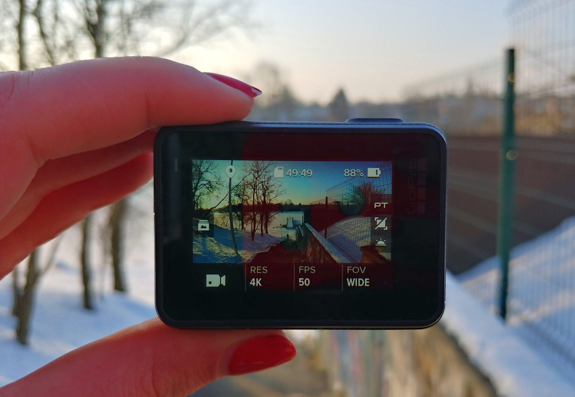 Recenzja kamerki GoPro Hero 6 Black 22