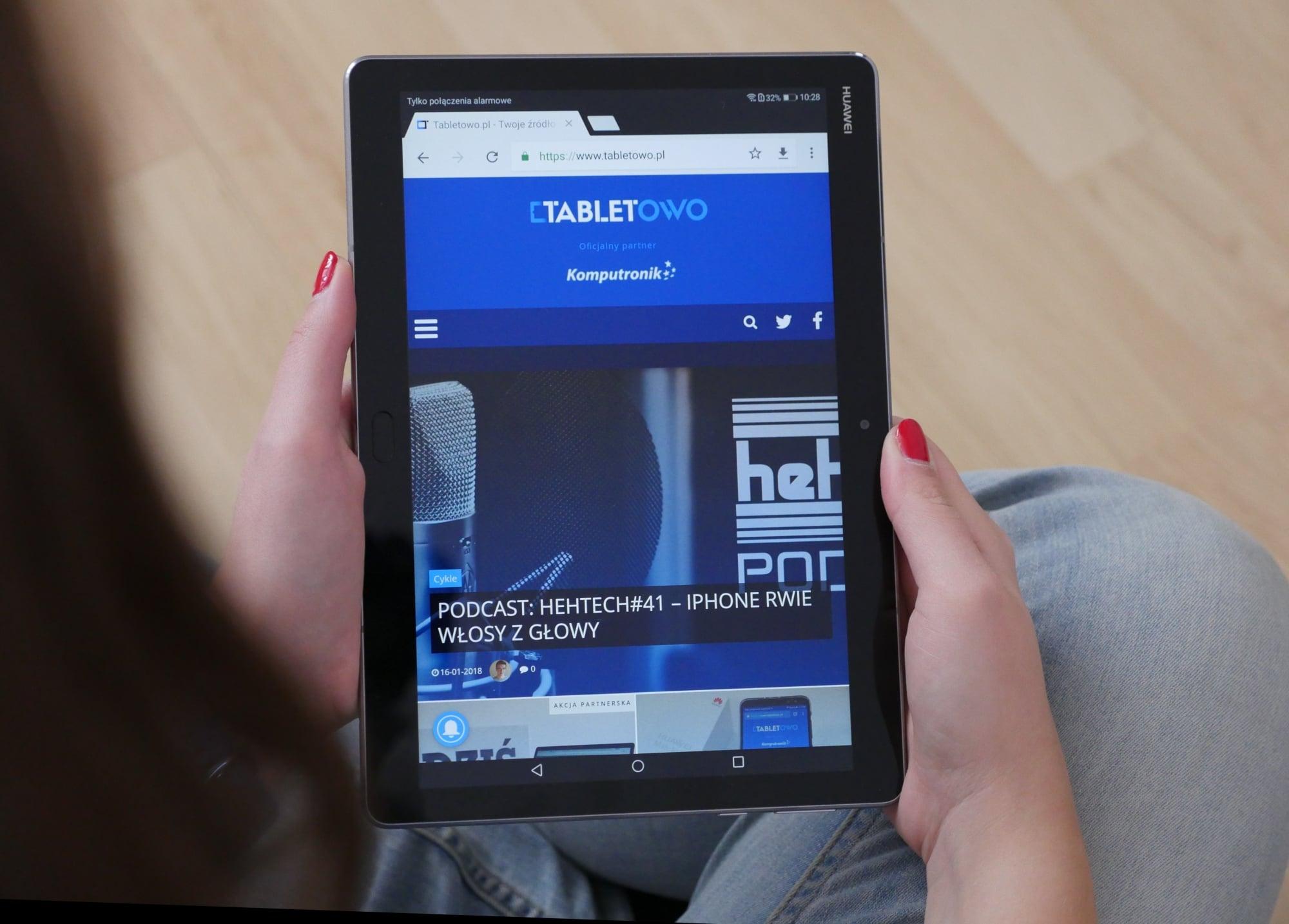 Tabletowo.pl Multimedia na tablecie, czyli MediaPad M3 Lite 10 w swoim naturalnym środowisku Android Huawei Tablety