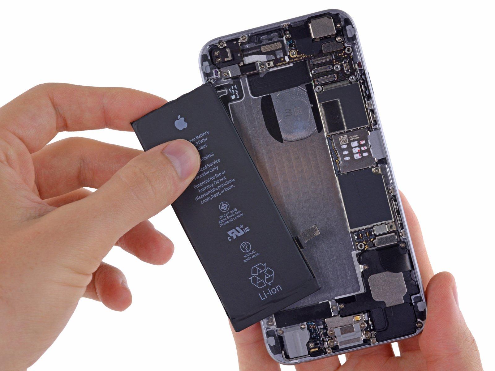 Tabletowo.pl Wymieniłeś w 2017 roku baterię w swoim iPhonie 6 lub nowszym za 369 złotych? Apple odda Ci 240 złotych Apple iOS Smartfony