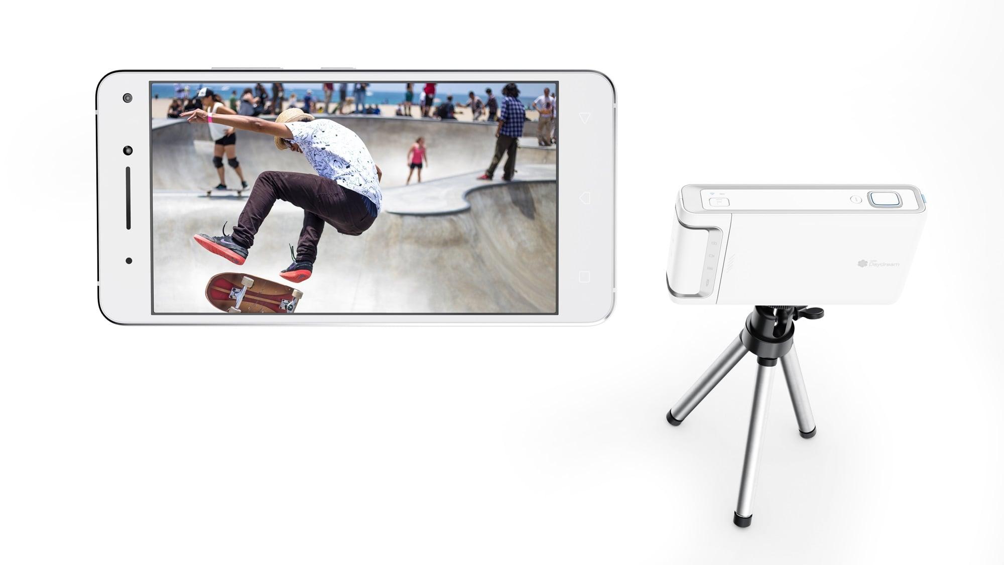 Tabletowo.pl Lenovo prezentuje gogle Mirage Solo i kamerę Mirage do rozszerzonej i wirtualnej rzeczywistości CES 2018 Google Lenovo Nowości Rozszerzona rzeczywistość Wirtualna rzeczywistość