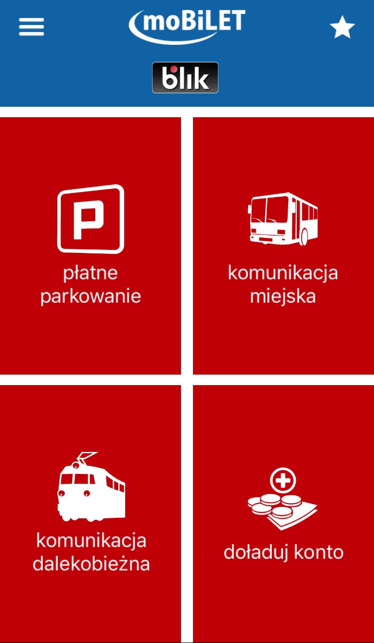 Tabletowo.pl Od teraz w aplikacji moBILET za bilet i parking zapłacisz również za pomocą BLIK-a Aplikacje Nowości