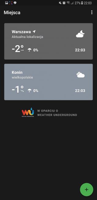 Tabletowo.pl Aplikacja tygodnia #15 - Weather Timeline Aplikacje Cykle Recenzje Aplikacji/Gier
