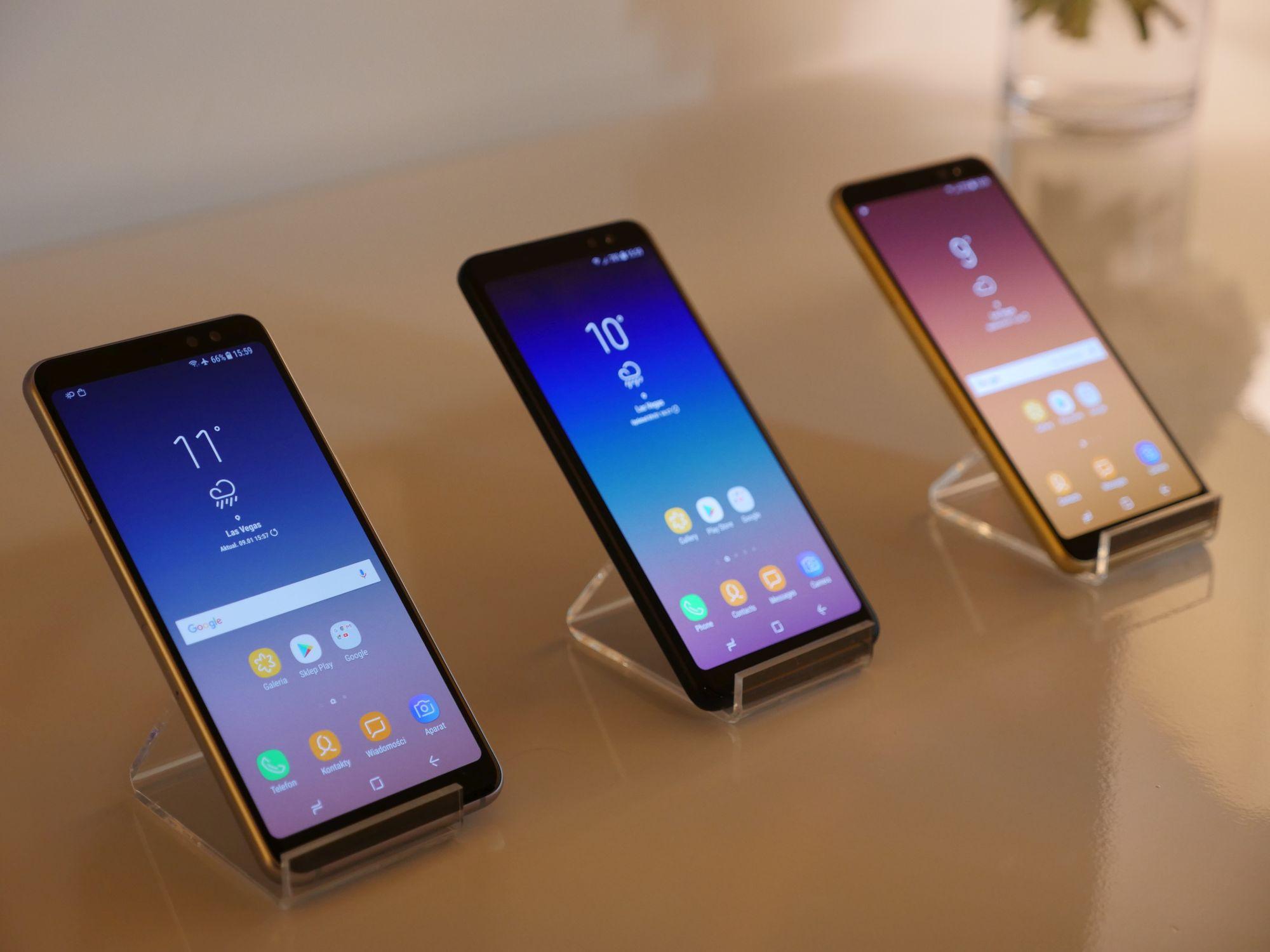 Samsung pozostaje największym producentem smartfonów na świecie. Za nim Huawei i Apple