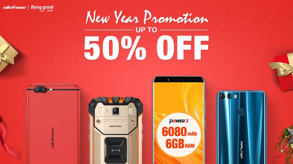 Ulefone zaczyna nowy rok promocjami - do 80 dolarów zniżki na wybrane smartfony 18