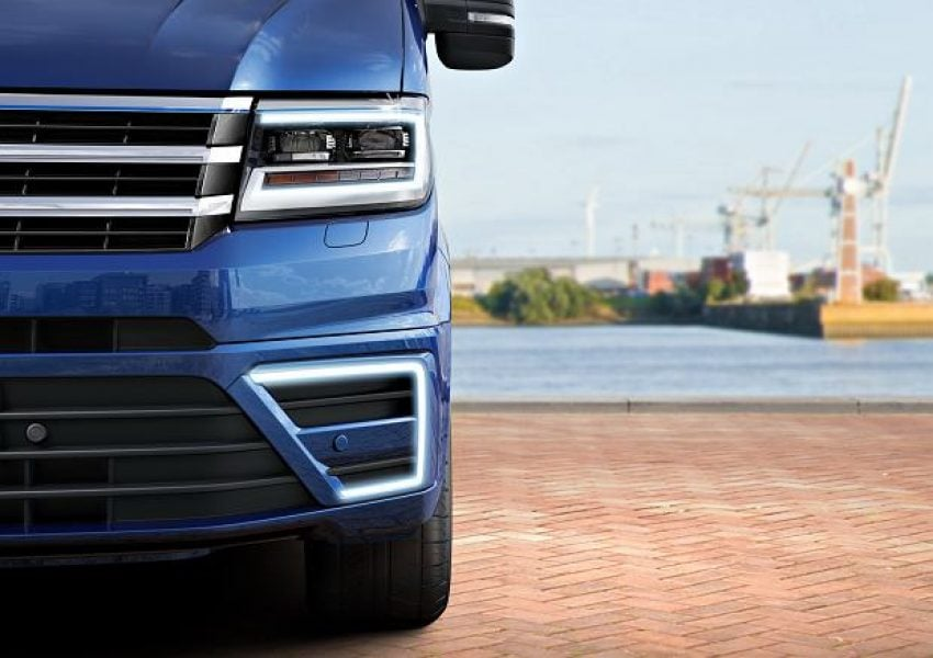 Elektryczny dostawczak od Volkswagena wyjeżdża na drogi 21