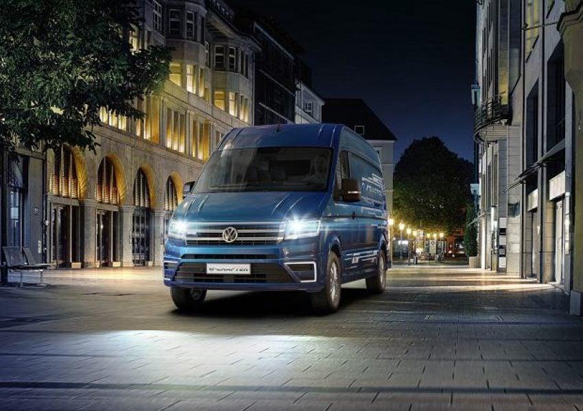 Elektryczny dostawczak od Volkswagena wyjeżdża na drogi 20