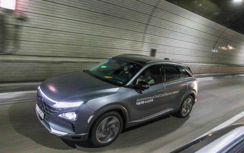 Tabletowo.pl Auta Hyundaia pojechały samodzielne na autostradzie. I to z całkiem dużą prędkością Moto