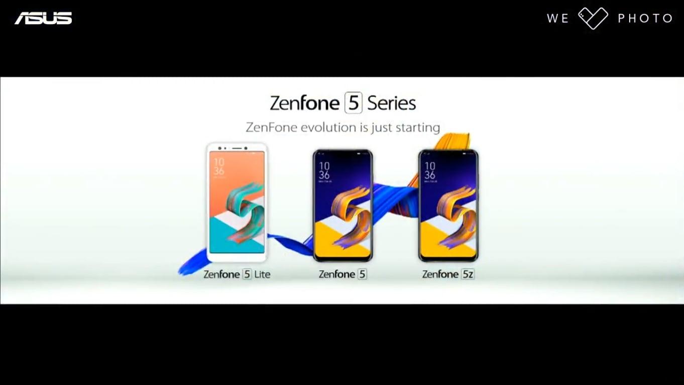 Zgodnie z zapowiedziami, Asus zaprezentował ZenFone 5. A przy okazji też ZenFone 5Z i ZenFone 5 Lite 26