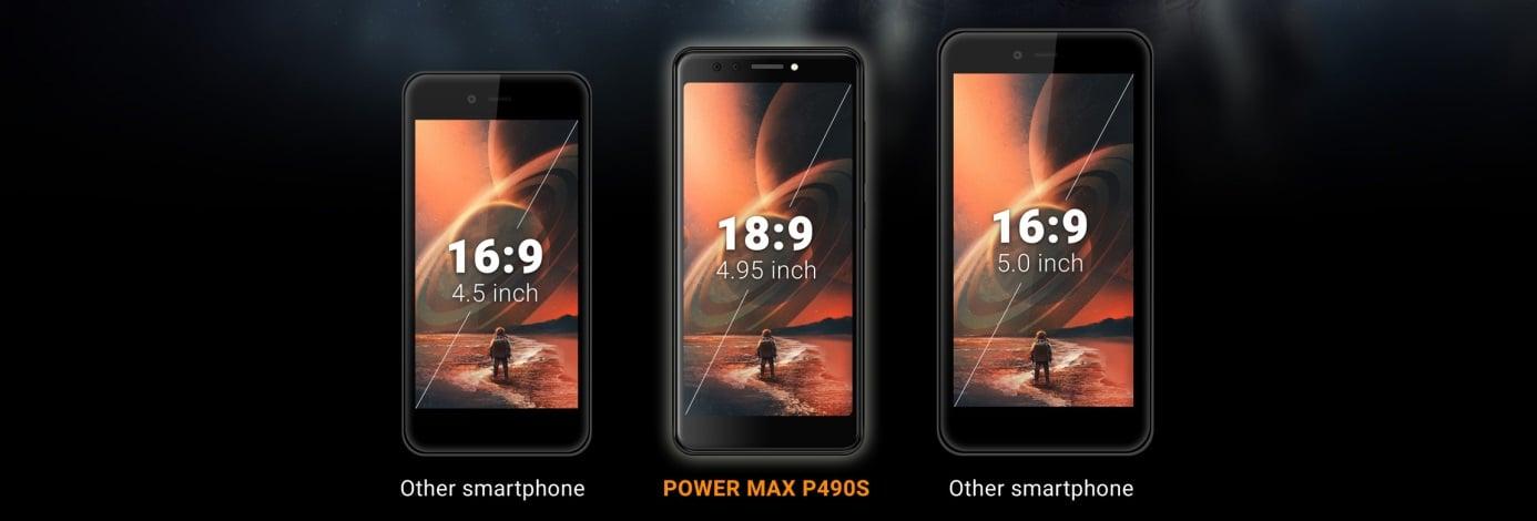 Tabletowo.pl Energizer Power Max P490S to pierwszy na świecie smartfon z tak małym ekranem o proporcjach 18:9 Android Nowości Smartfony