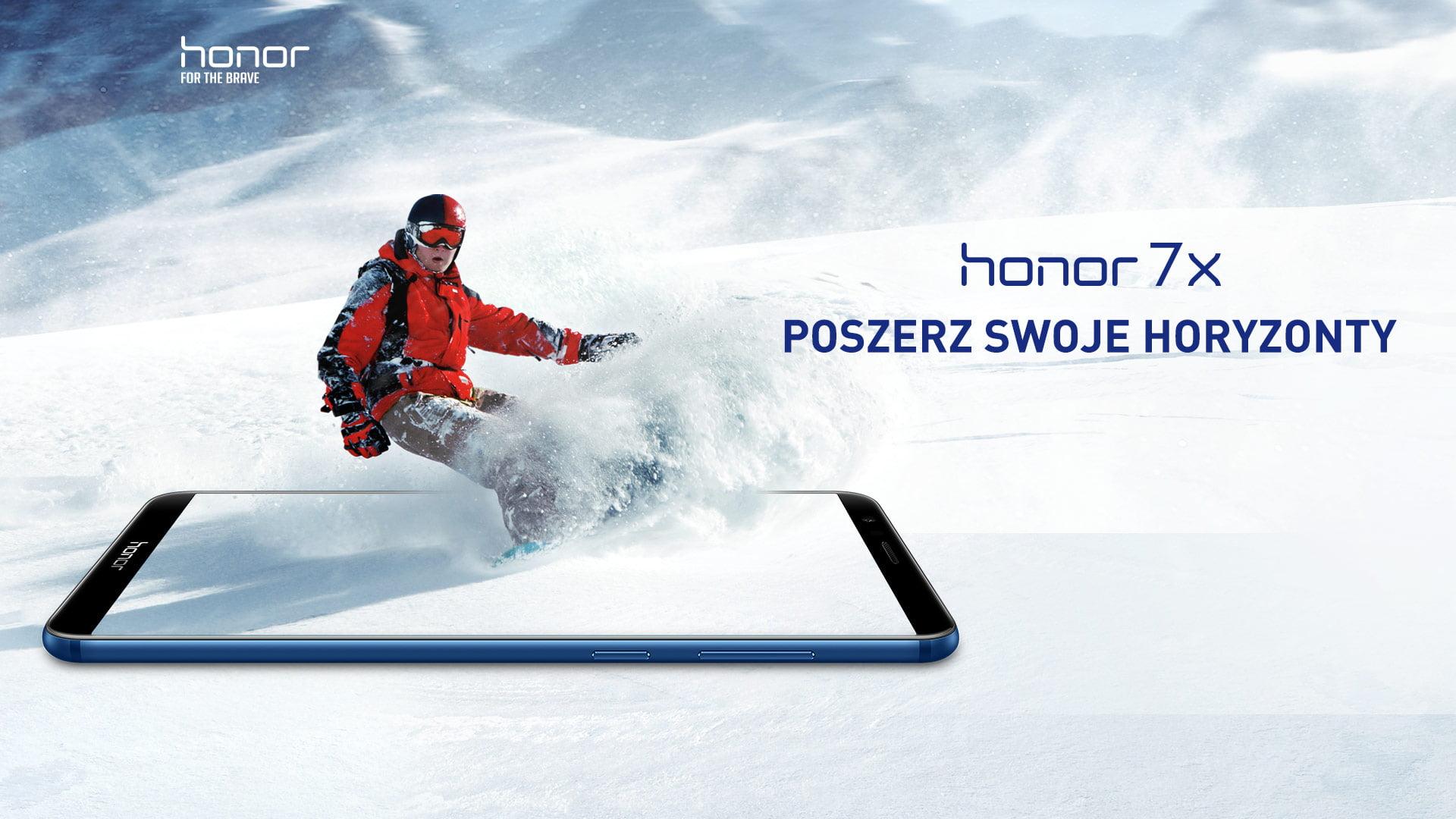 Świetna promocja: za 1000 złotych masz Honora 7X i głośnik Bluetooth, a do tego też audiobooka 22