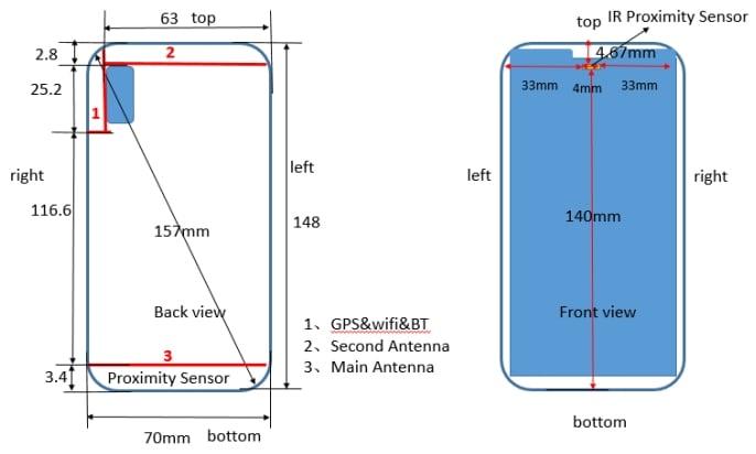 """Huawei P20 Lite też będzie miał ekran z """"uszami"""" jak iPhone X 17"""