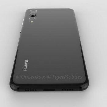 Tabletowo.pl Huawei P20 Plus na renderach. Nie ma czytnika linii papilarnych i 3,5 mm złącza słuchawkowego Android Huawei Plotki / Przecieki Smartfony