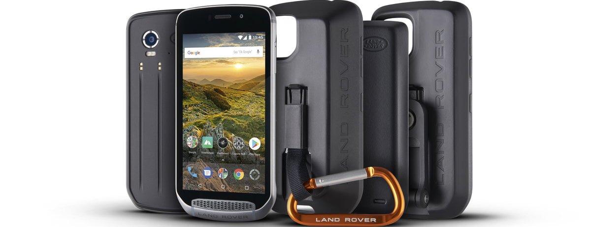 Tabletowo.pl Że niby smartfon typu rugged nie może obsługiwać modułów? Może, oto dowód: Land Rover Explore Android MWC 2018 Nowości Smartfony