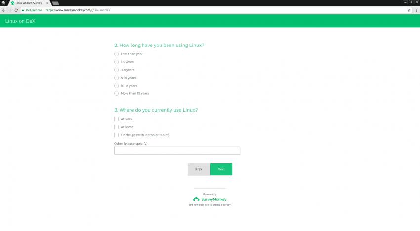 Samsung prosi o opinię, co użytkownicy sądzą o rozwiązaniu Linux on Galaxy (ankieta) 24