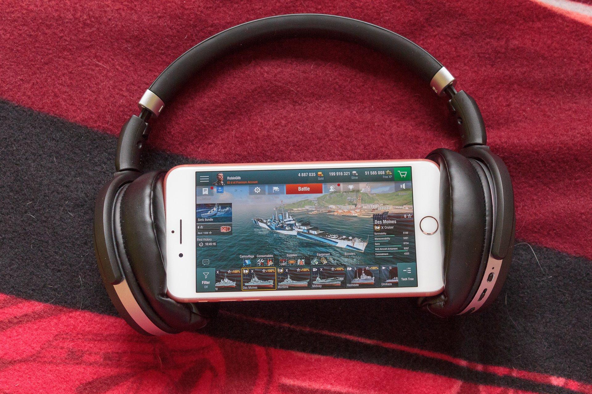 Recenzja Sennheiser HD 4.50 BTNC - doskonały dźwięk w wielkiej obudowie 27