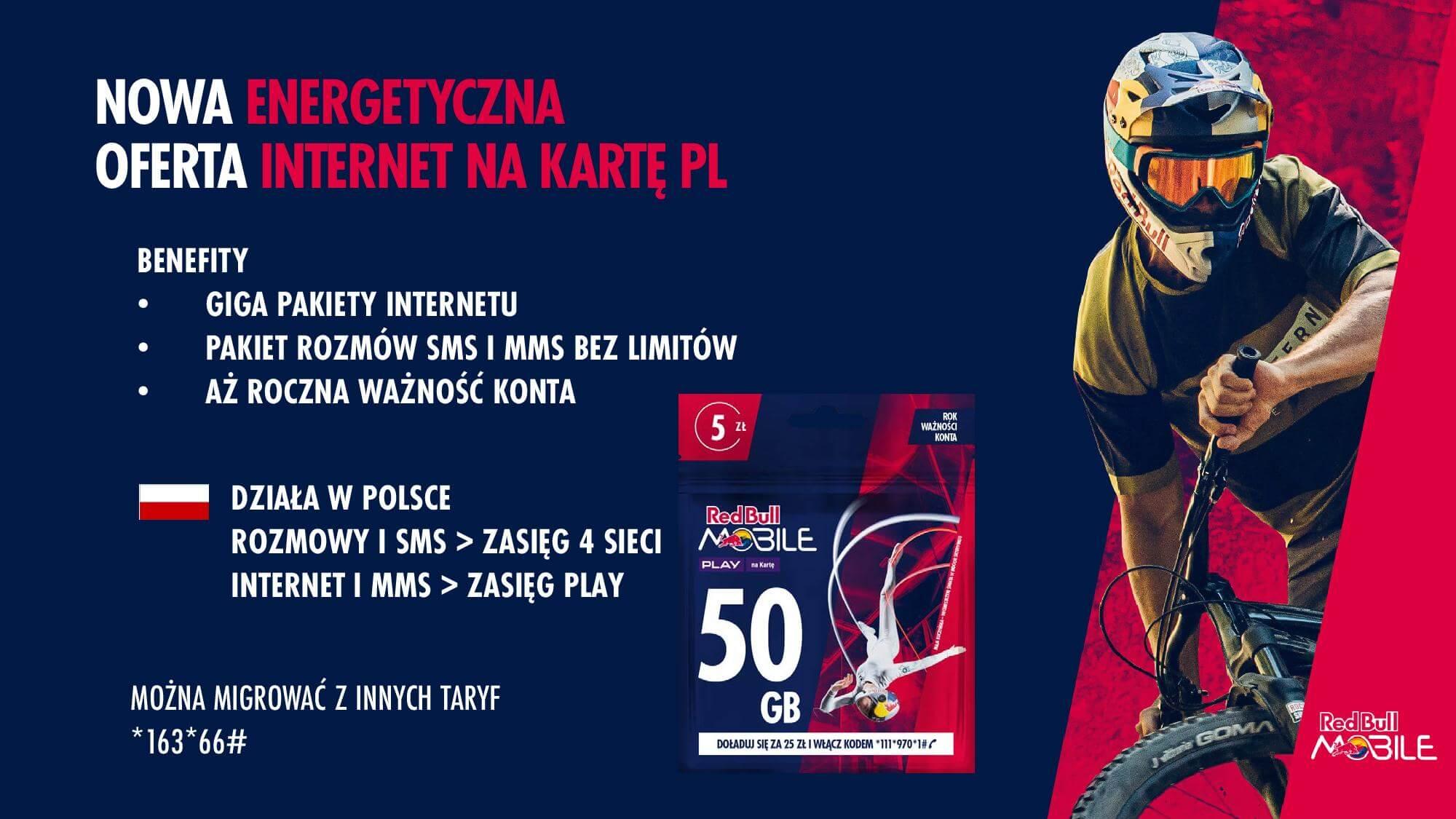 Tabletowo.pl Red Bull Mobile przedstawia nową ofertę. Największą nowością gigabajty, przechodzące na kolejne miesiące GSM Nowości