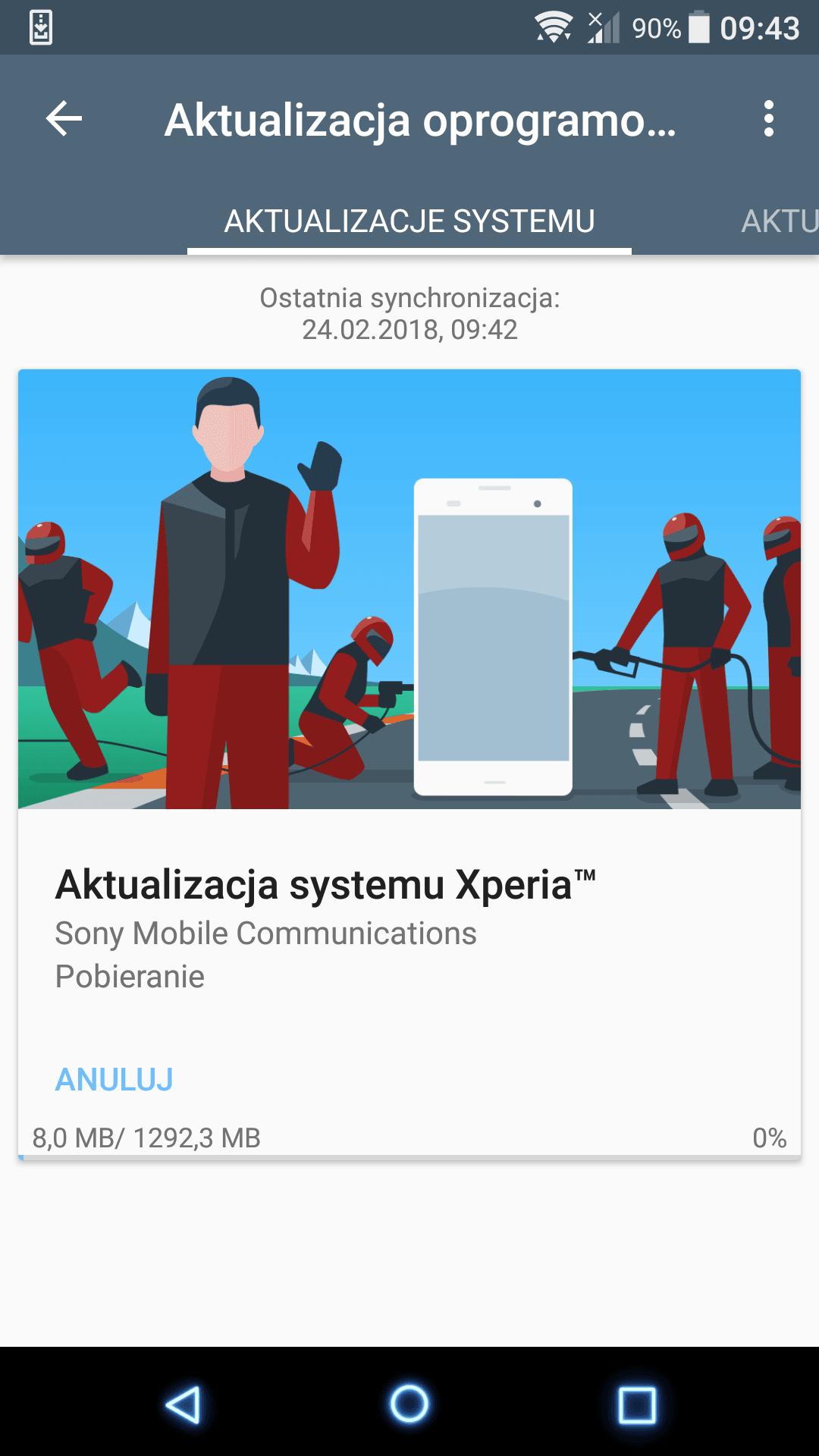 Tabletowo.pl Sony Xperia X z T-Mobile dostała aktualizację do Androida 8.0 Oreo Nowości