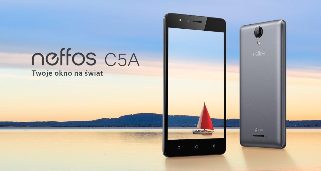 TP-Link Neffos C5A to smartfon, którego największymi zaletami są wytrzymałość i niska cena 16