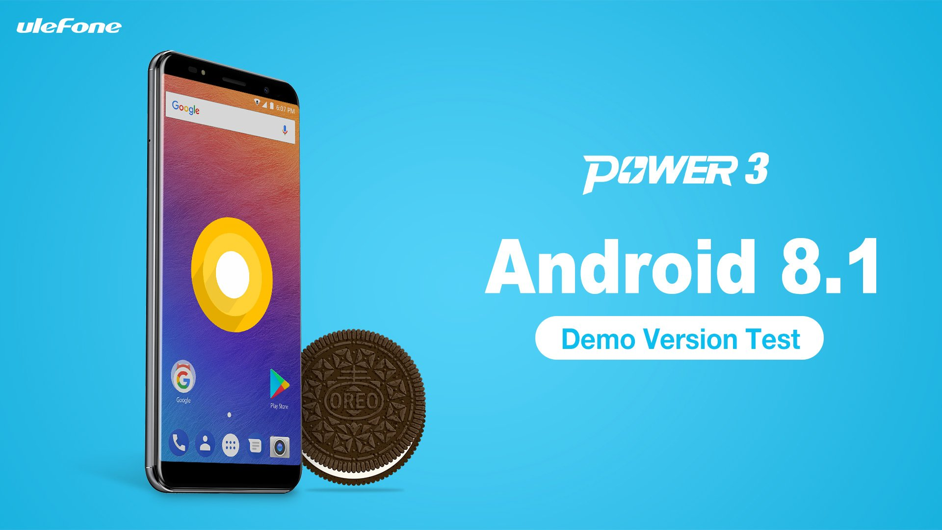 Tabletowo.pl Ulefone pokazuje, jak będzie wyglądał Android 8.1 Oreo na Ulefone Power 3 Android Chińskie Smartfony