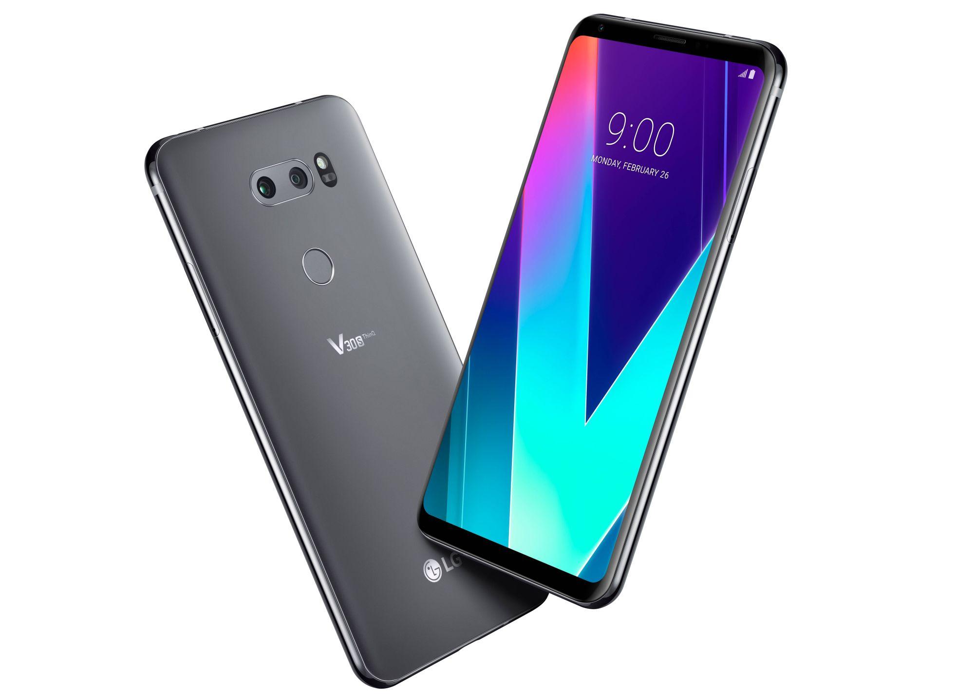 Tabletowo.pl LG V30S ThinQ - sztuczna inteligencja, więcej RAM-u i więcej pamięci Android LG MWC 2018 Smartfony
