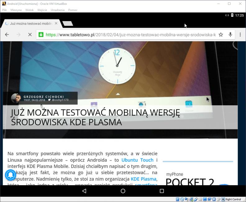 Tabletowo.pl Już można instalować Androida 7.1.2 Nougat na komputerach Android Ciekawostki Google