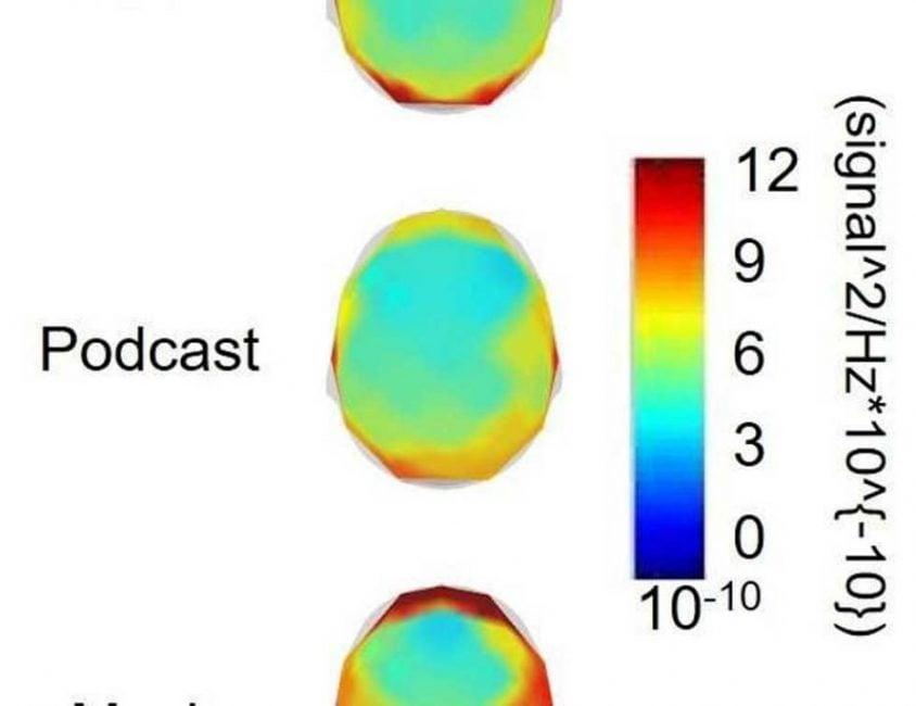 Spójrzcie, co się dzieje z naszymi mózgami, gdy słuchamy podcastów albo muzyki podczas ćwiczeń 17