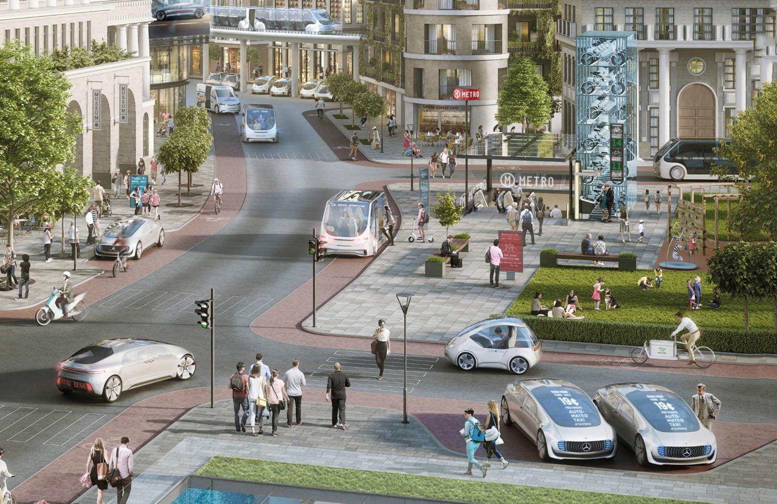 Daimler i Bosch przyspieszają. Testy autonomicznych taksówek w ciągu kilku miesięcy 24
