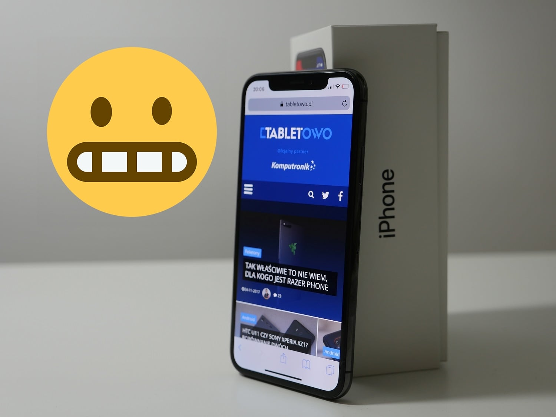 Tabletowo.pl #ToUczucieGdy masz iPhone'a X za prawie 5 tysięcy złotych, ale nie możesz odebrać połączenia. Znasz to? Apple iOS Smartfony