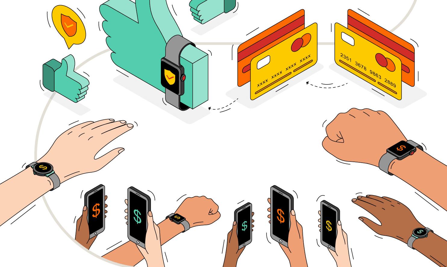Pod tym względem jesteśmy pierwsi w Europie. Polacy płacą bezstykowo i planują zakup smartwatcha 20