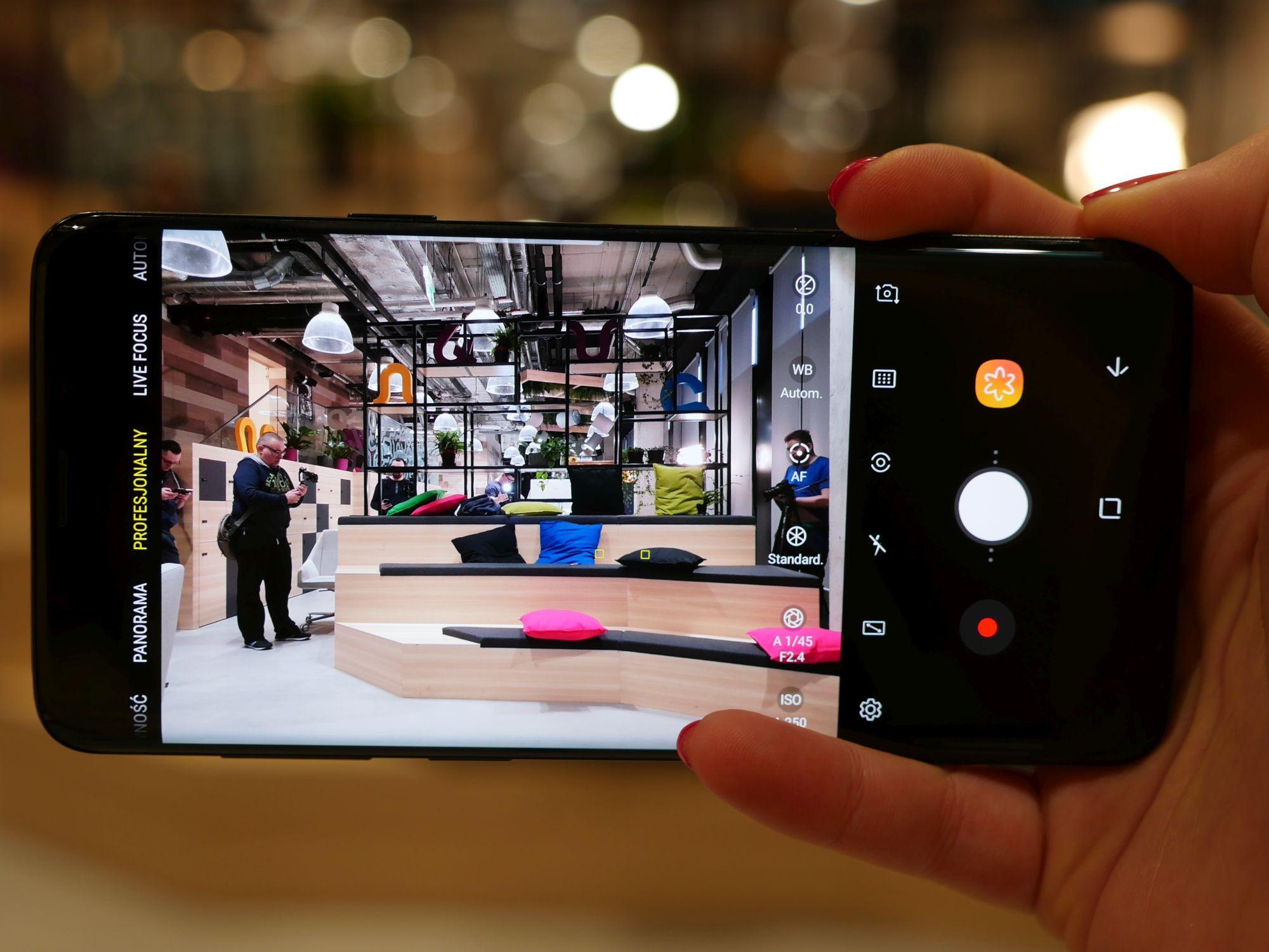 Tabletowo.pl Samsung Galaxy S9+ to ulepszony aparat, super slow motion i wiele więcej - nasze pierwsze wrażenia Android Samsung Smartfony