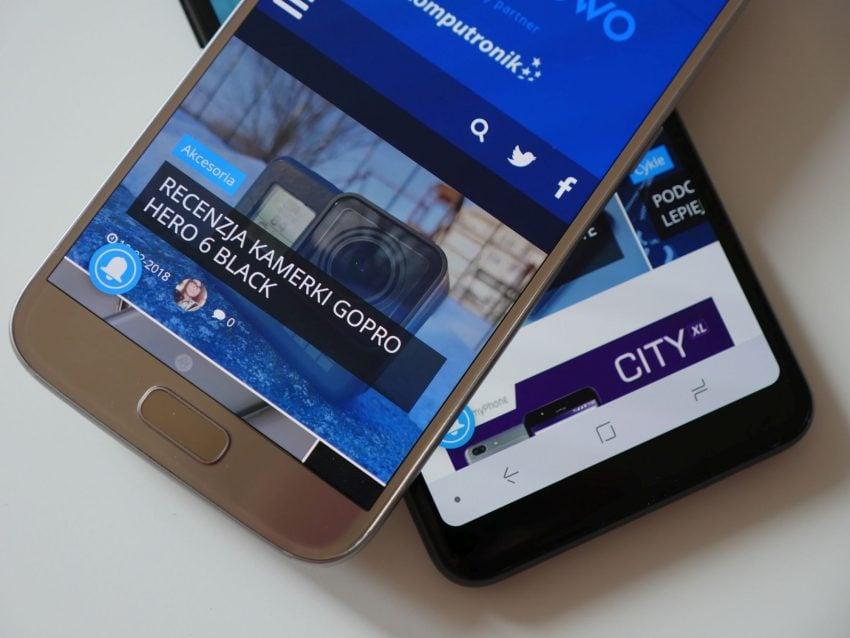 Porównanie: Samsung Galaxy A8 2018 vs Samsung Galaxy S7. Jak najnowszy średniak wypada w porównaniu z dwuletnim flagowcem? 128