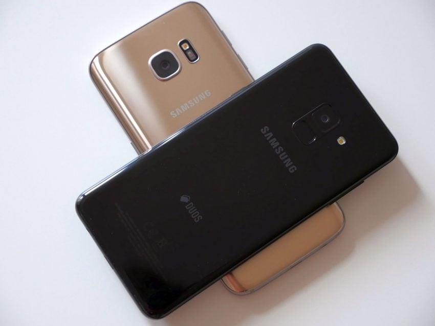 Porównanie: Samsung Galaxy A8 2018 vs Samsung Galaxy S7. Jak najnowszy średniak wypada w porównaniu z dwuletnim flagowcem? 24
