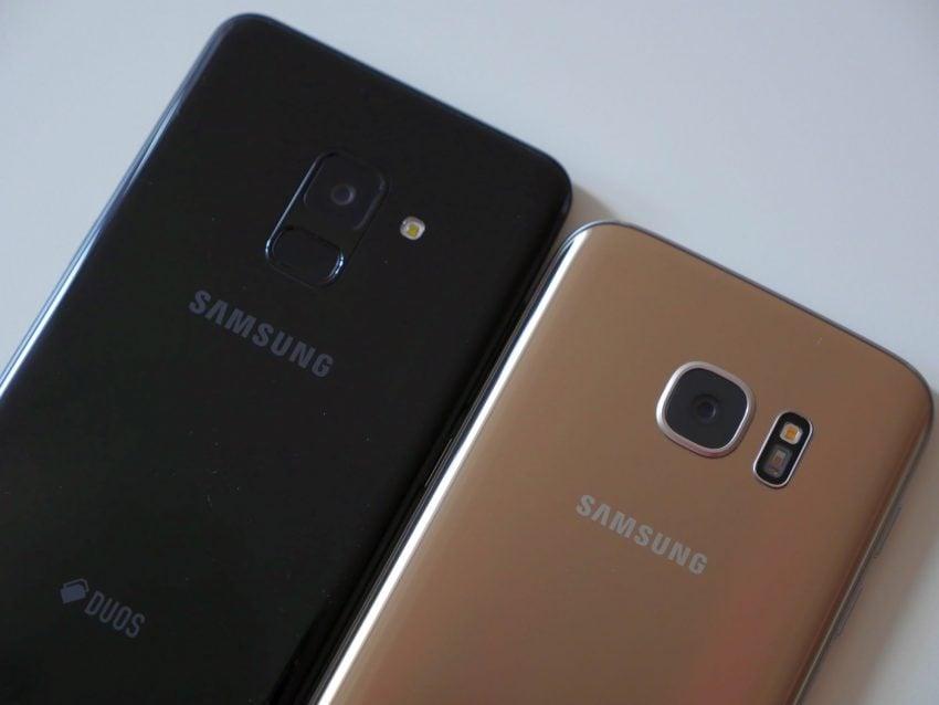 Porównanie: Samsung Galaxy A8 2018 vs Samsung Galaxy S7. Jak najnowszy średniak wypada w porównaniu z dwuletnim flagowcem? 129