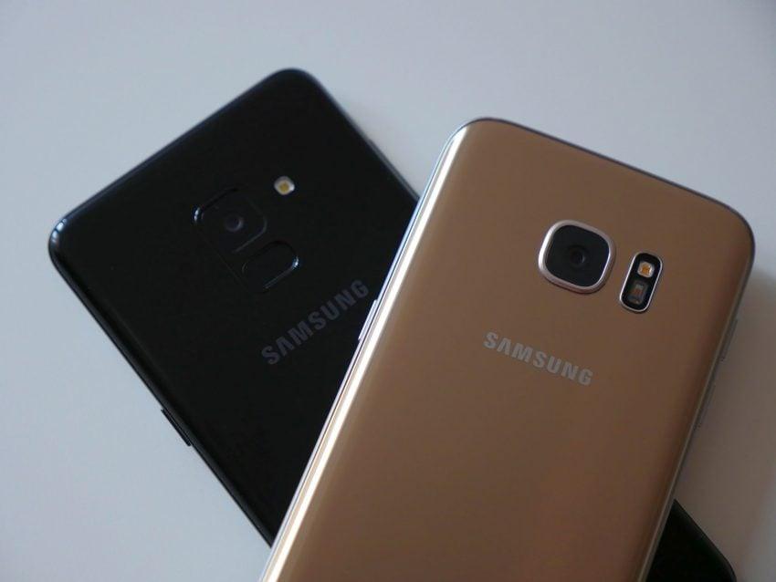 Porównanie: Samsung Galaxy A8 2018 vs Samsung Galaxy S7. Jak najnowszy średniak wypada w porównaniu z dwuletnim flagowcem? 25