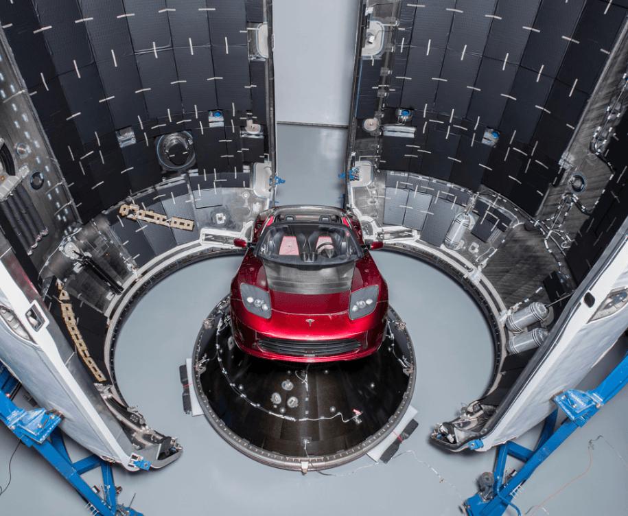 Tabletowo.pl Oglądajcie dziś start rakiety Falcon Heavy z Teslą Roadster na pokładzie. Jest szansa, że coś wybuchnie Ciekawostki