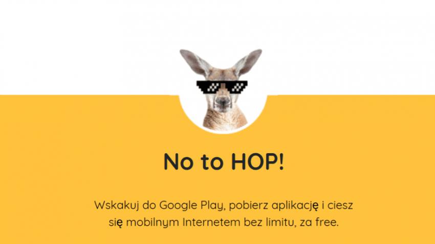 Tabletowo.pl W WebHop zniesiono już limity darmowego internetu, ale nadal musisz mieć nerwy na reklamy GSM