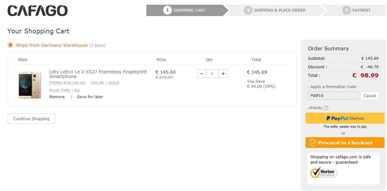 Tabletowo.pl Promocja: LeEco Le 2 (X527) za około 450 złotych, a do tego wysyłka z Niemiec, więc dostaniesz w kilka dni Android Chińskie Promocje Smartfony
