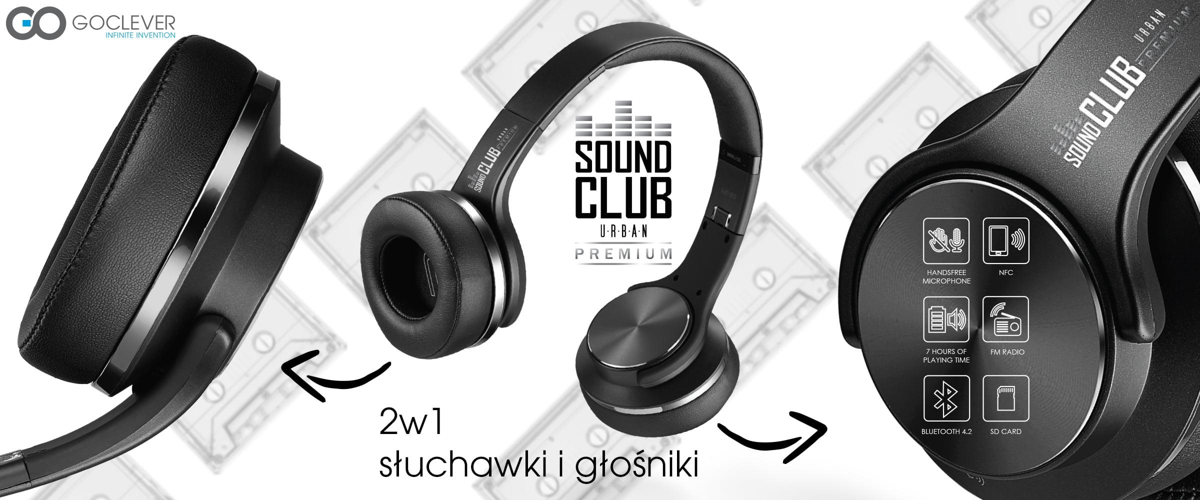 Tabletowo.pl -Stary, słuchawki ci się na lewą stronę przekręciły! -Nie, to głośniki są, od GOCLEVERa Akcesoria Audio GOCLEVER Nowości