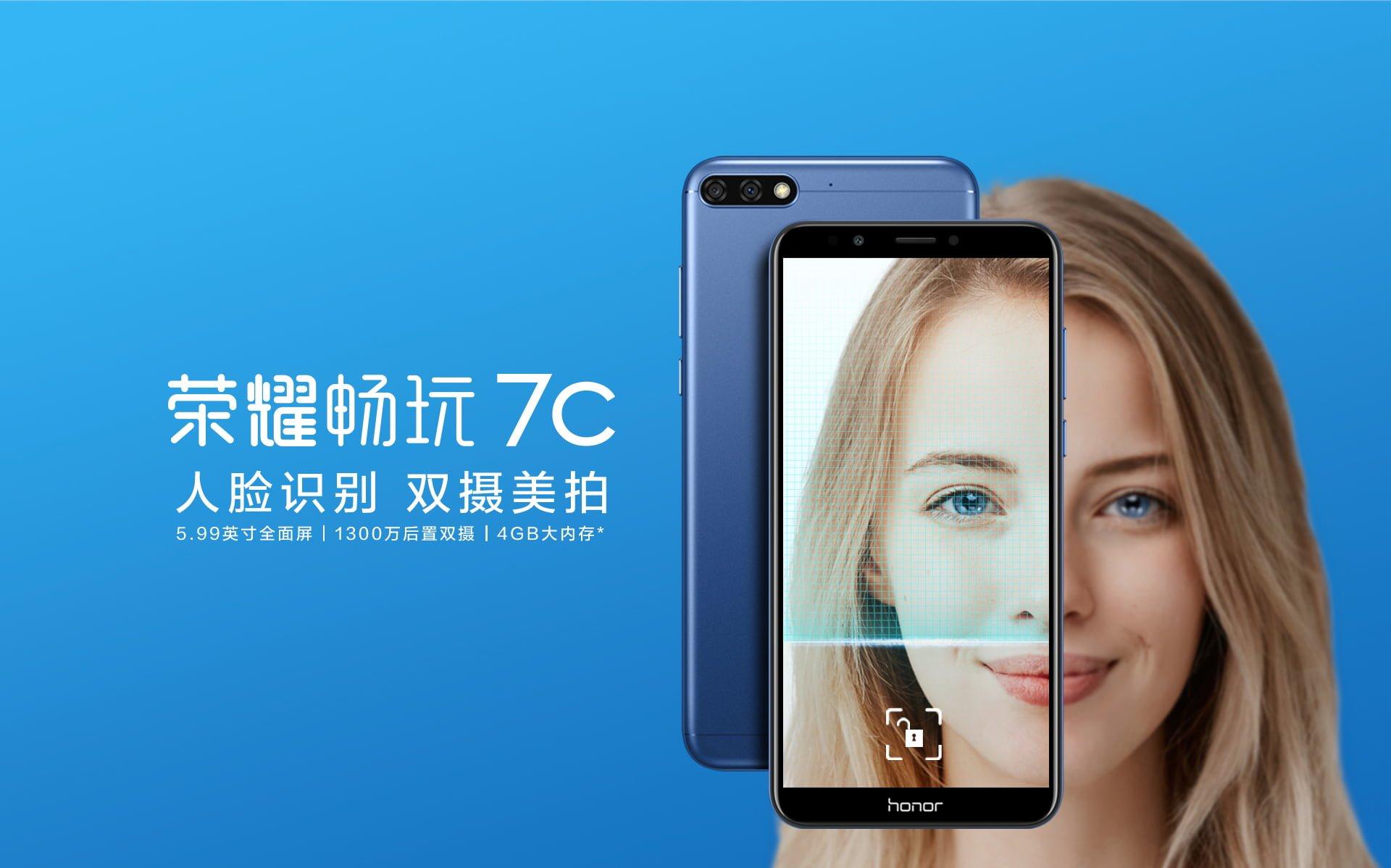 Tabletowo.pl Wygląda trochę jak Honor 8 Pro, ale to nowy średniak marki-córki Huawei, Honor 7C Android Huawei Nowości Smartfony