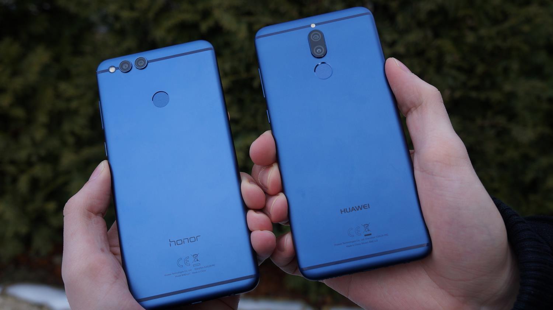 Tabletowo.pl Porównanie smartfonowych bliźniaków: Honor 7X vs Huawei Mate 10 Lite Android Huawei Porównania Smartfony
