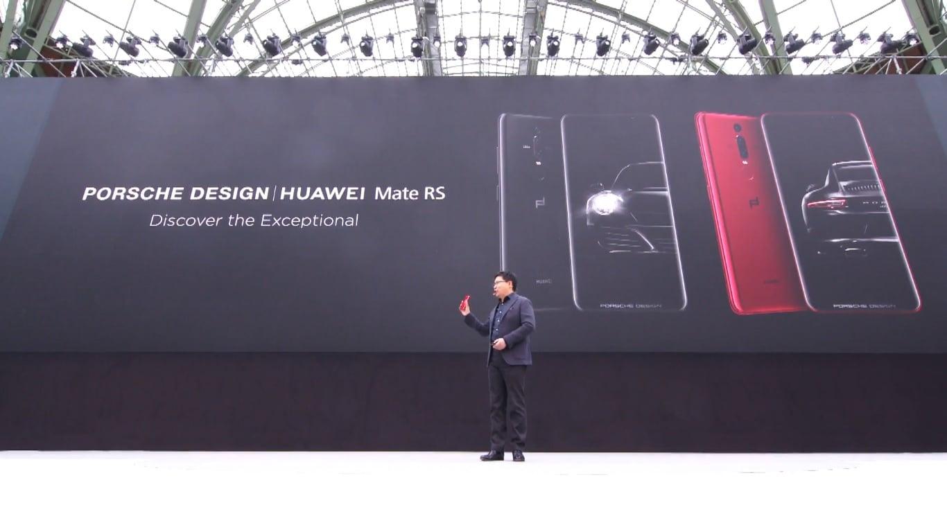 A to coś dla wymagających z grubym portfelem - Huawei Mate RS Porsche Design z czytnikiem w ekranie 20