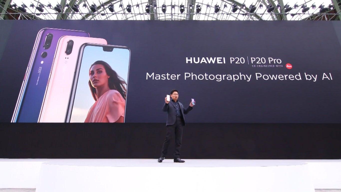 Premiera Huawei P20 i Huawei P20 Pro. Flagowce są dwa, ale król jest tylko jeden 23