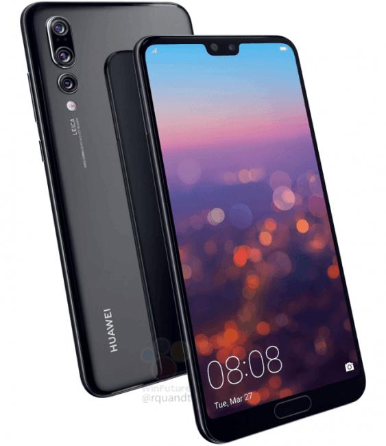 W Huawei P20 Pro będzie potrójny aparat główny: 40 Mpix, 20 Mpix i 8 Mpix 16