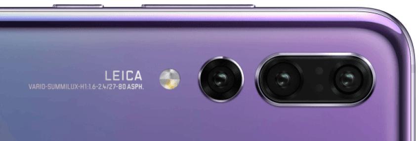 W Huawei P20 Pro będzie potrójny aparat główny: 40 Mpix, 20 Mpix i 8 Mpix 15
