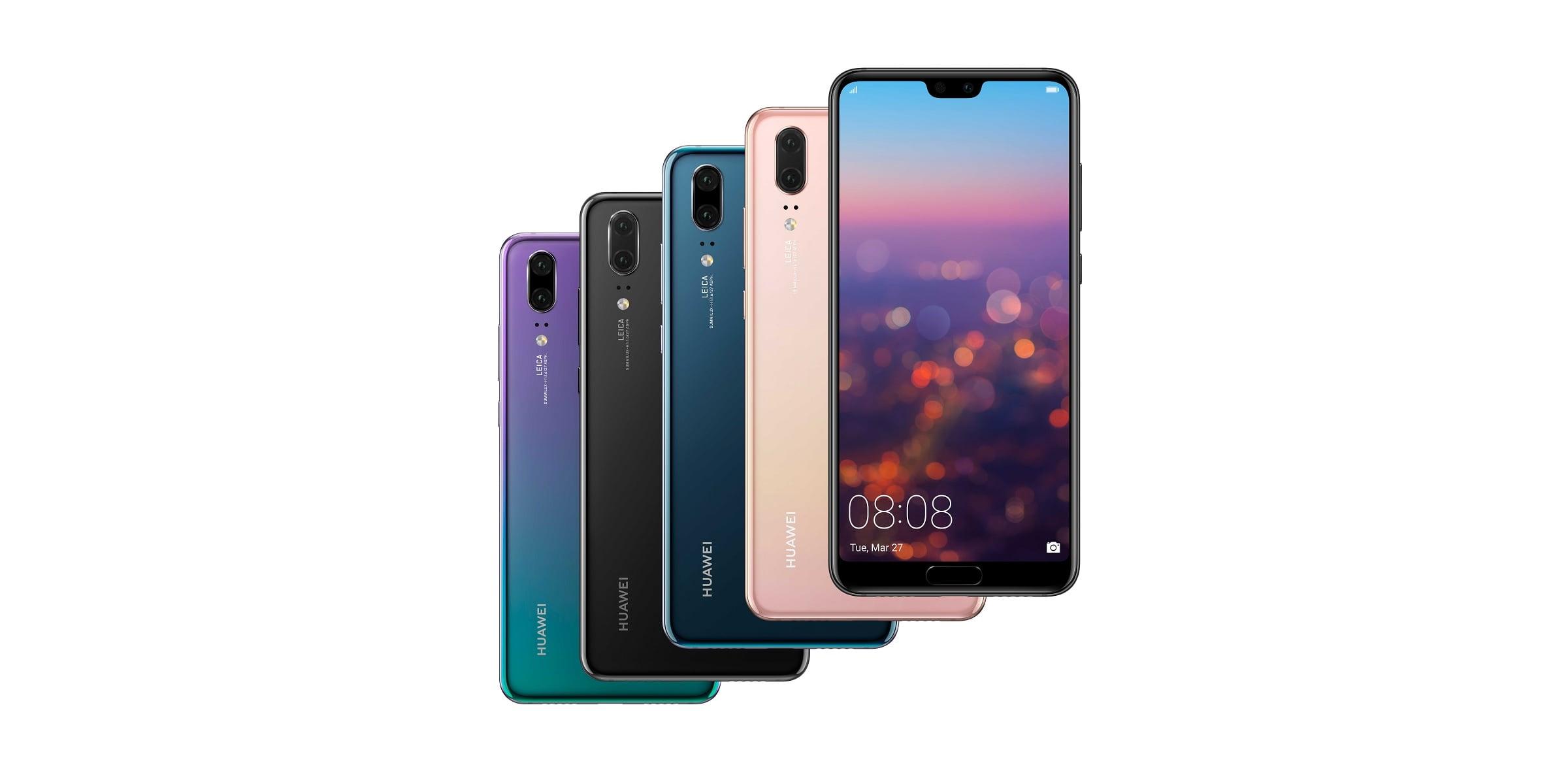 Huawei P20 i Huawei P20 Pro vs Huawei P10, Huawei P10 Plus i Huawei Mate 10 Pro - porównanie parametrów