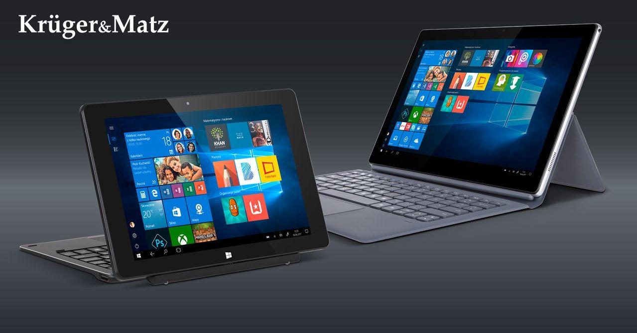 Kruger&Matz wprowadza do oferty dwa nowe tablety 2w1: EDGE 1086 LTE i EDGE1162 25
