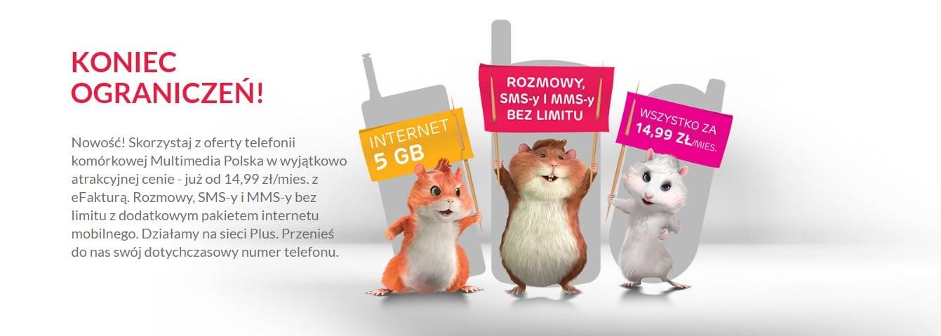 Tabletowo.pl Multimedia Polska wprowadza nową ofertę - abonament już od 14,99 złotych miesięcznie GSM Nowości
