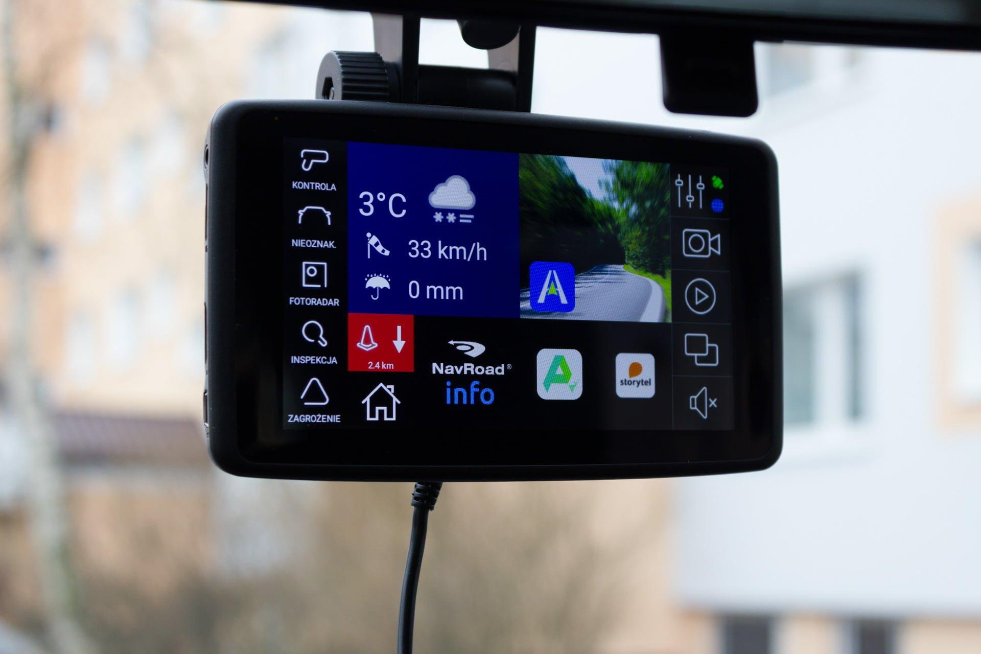 Recenzja NavRoad UNI, czyli co się stanie, gdy nawigacja spotka smartfona i kamerę 26